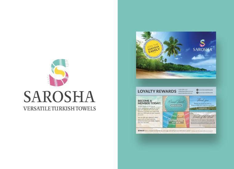 Sarosha Loyalty Card Branding
