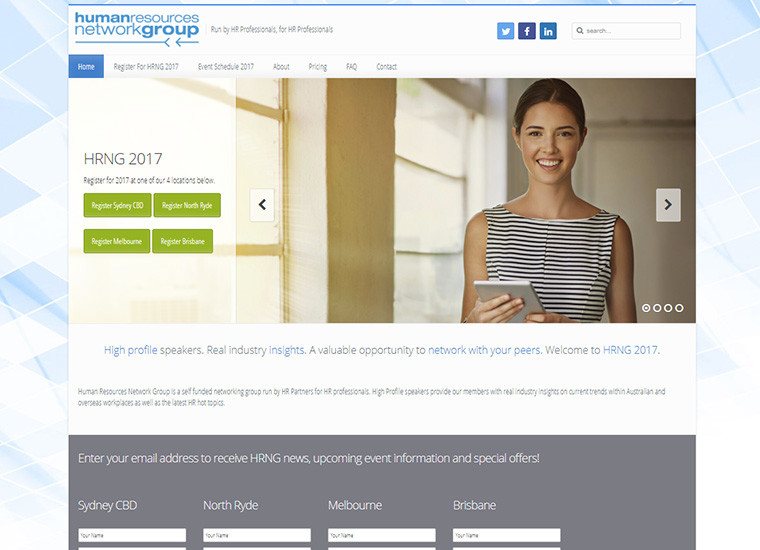 HR Network Group Home Page