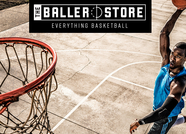 The Baller Store Marketing Material