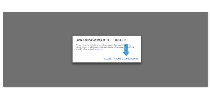 Google Maps API instruction step 4