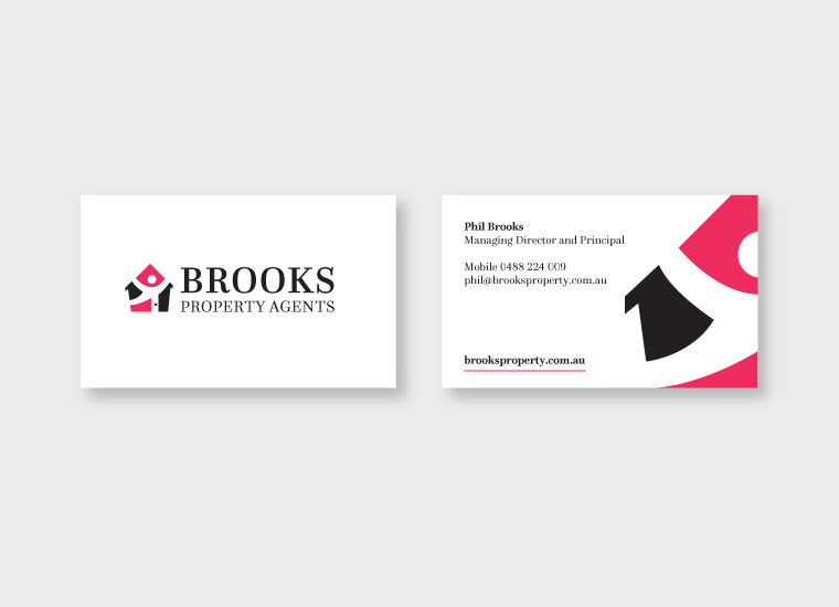 Brooks Property Business Card Design