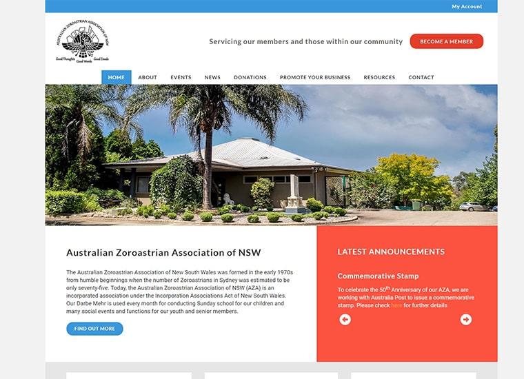 Australian Zoroastrian Association Home Page