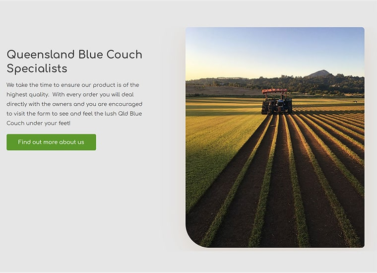 Eumundi Turf Home Page Tractor